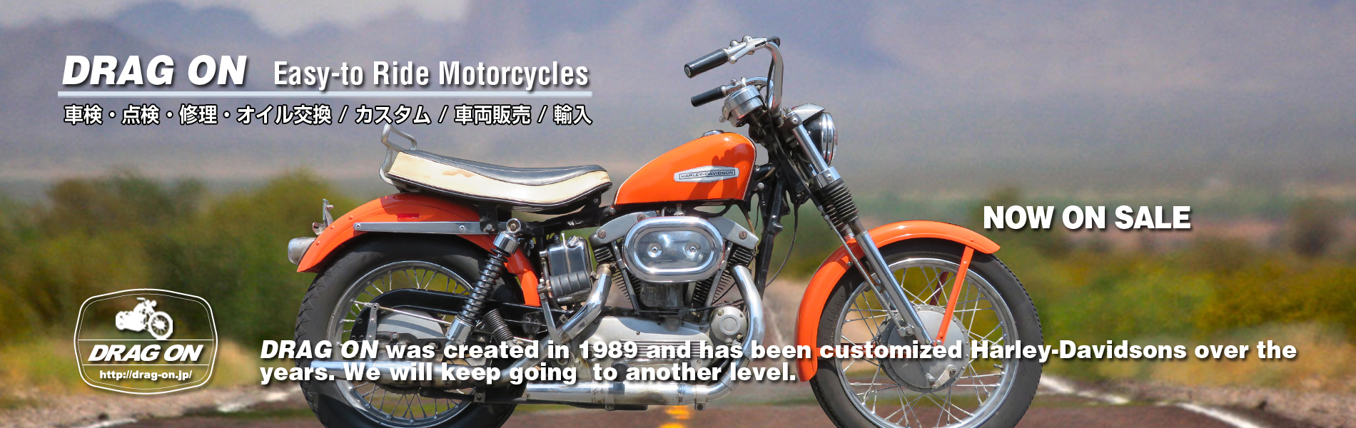 Harley-Davidson XLCH 900 1968 モデル